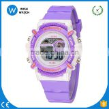 DLW001/ Children Watches Cute Kids Watches Sports Cartoon Watch for Girls boys Rubber Children's Digital LED Wristwatches Relojo