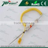 2016Topright new arrival Handle K type surface probe thermocouple for high temperature sensor