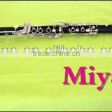 Musical instrument professional clarinet in tone A wtih niclel plated