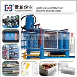 Plastic moulding machine for styrofoam seafood box