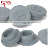 32mm rubber closures for brosilicate injection vials