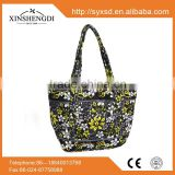 100% cotton tote bags ,hispter shoulder bags ,wholesale floral print quilted fabric handbags