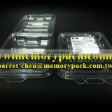 Memorypack For HP SAS HDD packaging box esd clamshell plastic blister box