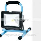 Newest Hot Selling Portable rechargeable LED Flood light 30 W,Outdoor Portable LED Flood Bulb Lighting To Athens Greece
