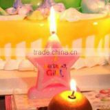 Wholesale Baby Girls 1st Birthday Candle available in 1 2 3 4 5 6 7 8 9 0 Kids Birthday Partyware Party Supplies