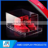 2013 hot acrylic clear shoe box drawer/clear acrylic clear shoe box drawer/transparent acrylic clear shoe box drawer