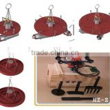 Furnace refractory lining installation equipment: vibrating tamper air rammer ramming machine