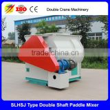 Horizontal type Powder Feed Mixing Machine , Double Shaft Ribbon Mixer