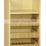 No Painting Natural Bamboo Commodity Shelf