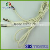 China wholesale nice polyester metal tip round shoelaces