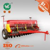 24 Rows 100 Kw Trailed Hydraulic Grain Planting Machine with Transport Wheel