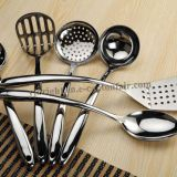 304 high quality Stainless steel kitchen utensil set