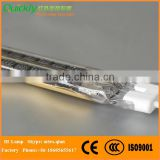 Carbon Medium Wave infrared lamp twin tube heater