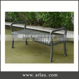Arlau Vintage Metal Garden Chairs,New Launch Simple High Quality Outdoor Metal Bench,Oem Outdoor Iron Bench