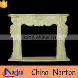 low price fireproof material fireplace mantels supplier NTMF-F508X