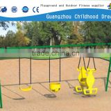 (CHD-907) Outdoor three seat old school baby swing