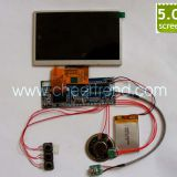 China factory direct 5 inch lcd tft video display module for Advertisin video greeting card/video brochure/video booklet