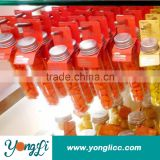 Eco-Friendly Colored Clear Chocolate Tube Plastic Test Tubes With Screw Cap