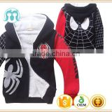 chinese winter coat children boy Spider-Man clothing boy winter jacket children wool coat for baby