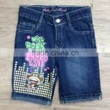 bobby jack ramie cotton polyester spandex girls denim shorts #3R5553
