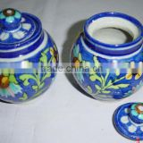 Handmade Ceramic Blue Pottery Kitchenwares
