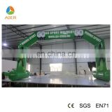 2016 AIER Wholesale inflatable advertising sport entrance arch
