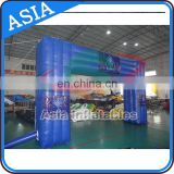 Double Layer Oxford Material Made Inflatable Truss Arch For Race , Racing Box Inflatable Arch , Stable Inflatable Archway