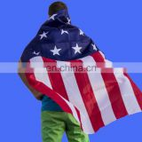 2016 hot sell American Flag Capes