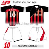Custom sublimated soccer shirt, full dye sublimation football shirt Made In Thailand Soccer Jerseys