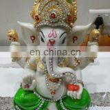 LORD GANESHA IDOL IN MARBLE BY RH