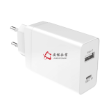 30W Euro Plug Dual USB C PD Charger for Apple MacBook / HP Pro Tablet 608