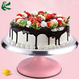 Multiple Size Cake Turntable Revolving Rotating Cake Decorating Stand with Non-Slip Silicone Bottom
