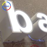 outdoor custom led acrylic light box with led letter sign logo