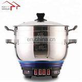 Four levels Stainless Steel Multipurpose Home Appliance Two Layers Electric Steamer Cooking Pot