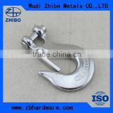 Manufacture supply metal hardware Clevis safty latch slip hook