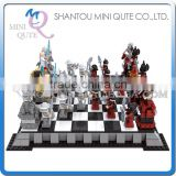 Mini Qute DIY intellect international chess draughts action figure plastic model building block brick educational toy NO.27907