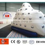 2015 Hot Sale Inflatable Iceberg Water Toy ,Water Climbing Inflatable Games