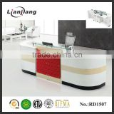 Modern luxuious reception desk dimensions