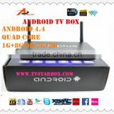 best qulaity android internet stream tv box i6splus android smart tv box 1g+8g h3 quad core android tv box