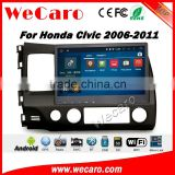 Wecaro WC-HC1030 10.2 inch android 4.4/5.1 car dvd gps for honda civic 2006 - 2011 With Wifi and 3G GPS