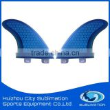 G3/G5/G7/GX Surfboard Fin Honey Comb,Fiberglass, Half Carbon, Full Carbon, Bamboo Skin, Wooden Skin,Net Fabric,PU or EPS Resin