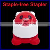 9 Color Option 2 Shape Panda And Cute Pig Child Safe Office Stapler Cartoon Animal Stapler