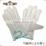 FTSAFETY pig grain leather working glove with full palm for driver