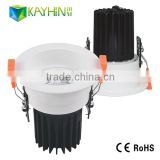 CB&UL&TUV&SAA top quality New Design Pure White 10W recessed downlight downlight housing fixture led light downlight