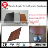 wood grain countertop hpl high pressure laminate board compact laminate board fireproof board phenolic compact laminate board