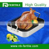 Food Grade Regular Carbon Steel Roasting Pan With Rack 116855