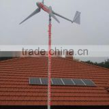 HOT SALES! 2kw home wind turbine, wind electric generator 2kw for wind solar hybrid system 3kw 4kw 5kw
