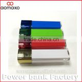 Hot new procucts for 2015 AK-011 different capacity with quick charge mini power bank fast shipping