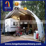 garage warehouse storage screw joint arch steel building roof panel forming machine