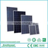 Everexceed world leading photovoltaic solar panel with grade A cells                                                                         Quality Choice